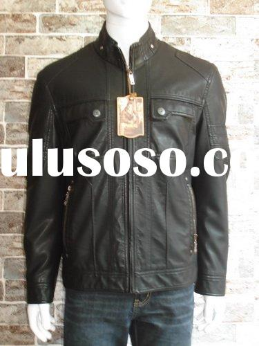2011 black leather jacket