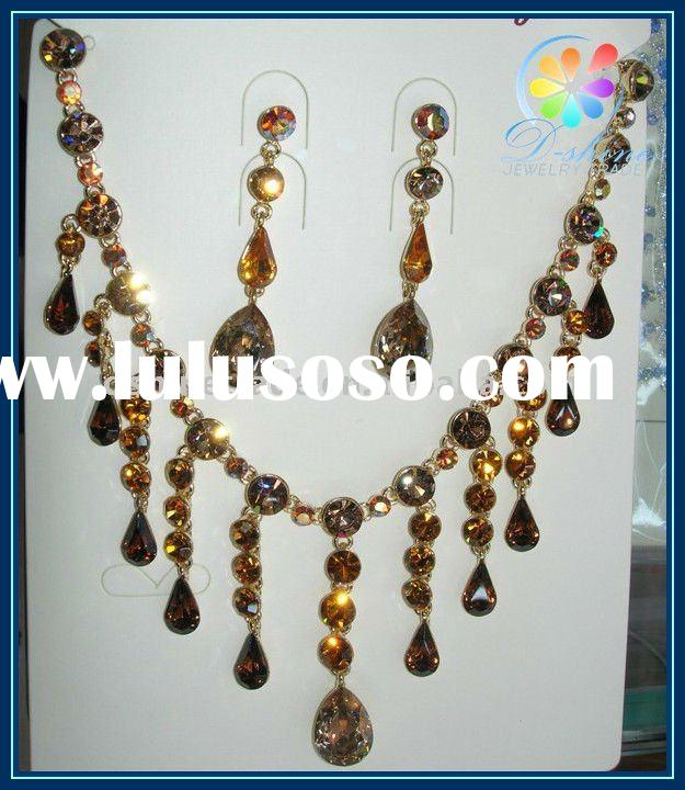 2011 fashion indian bridal jewelry sets wedding jewelry set
