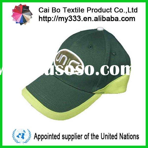 2011 latest fashional 100% cotton Baseball hats