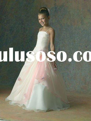 2011 new arrival beautiful Lovely cinderella fairy princess BB0007 Flower Girl Dress