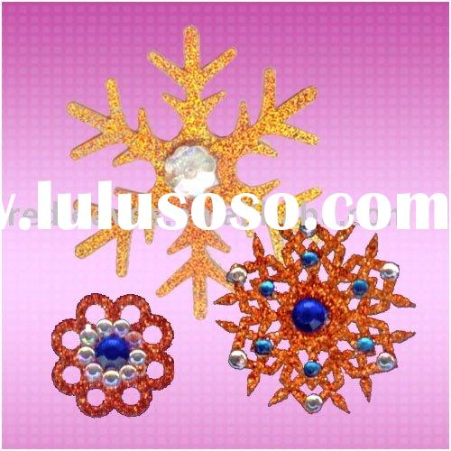 2011 new arrival laser cutting Christmas decoration