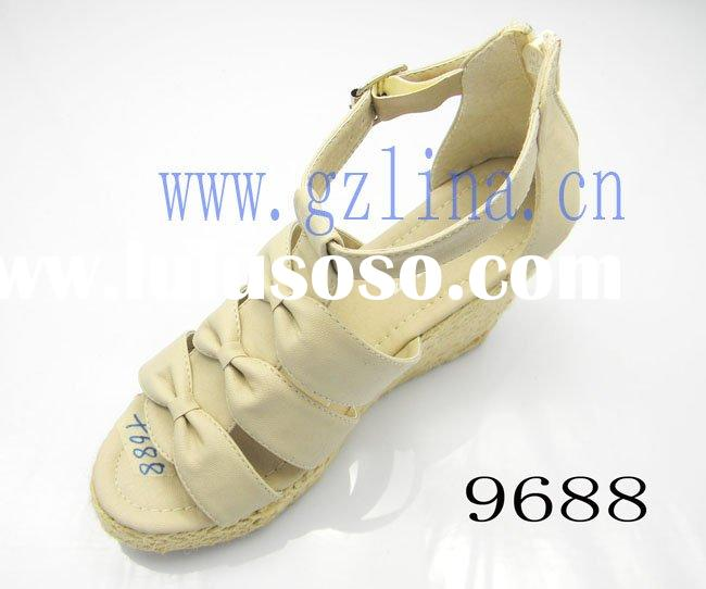 2011 the hottest fashionable woman wedge sandals