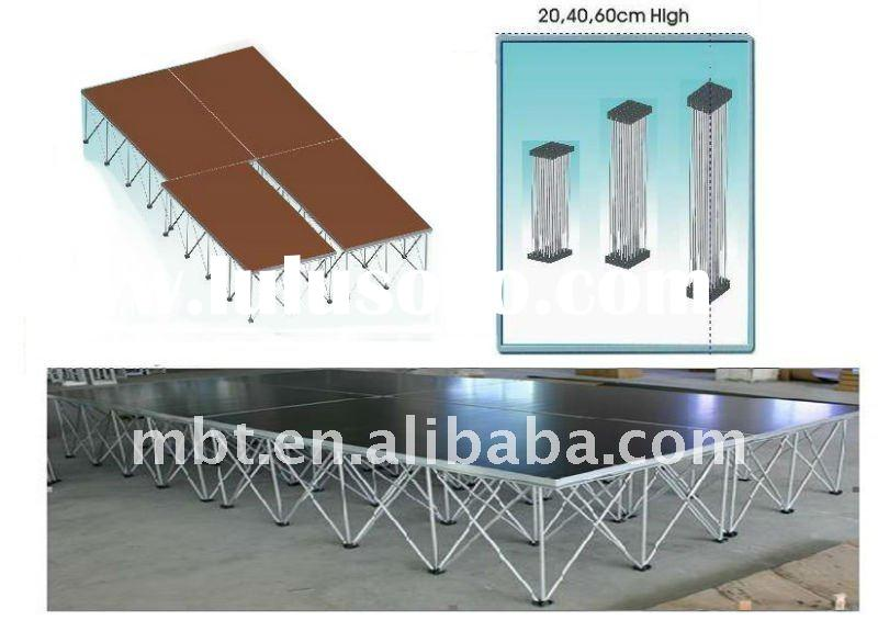 2011 wholesale retractable stage for event