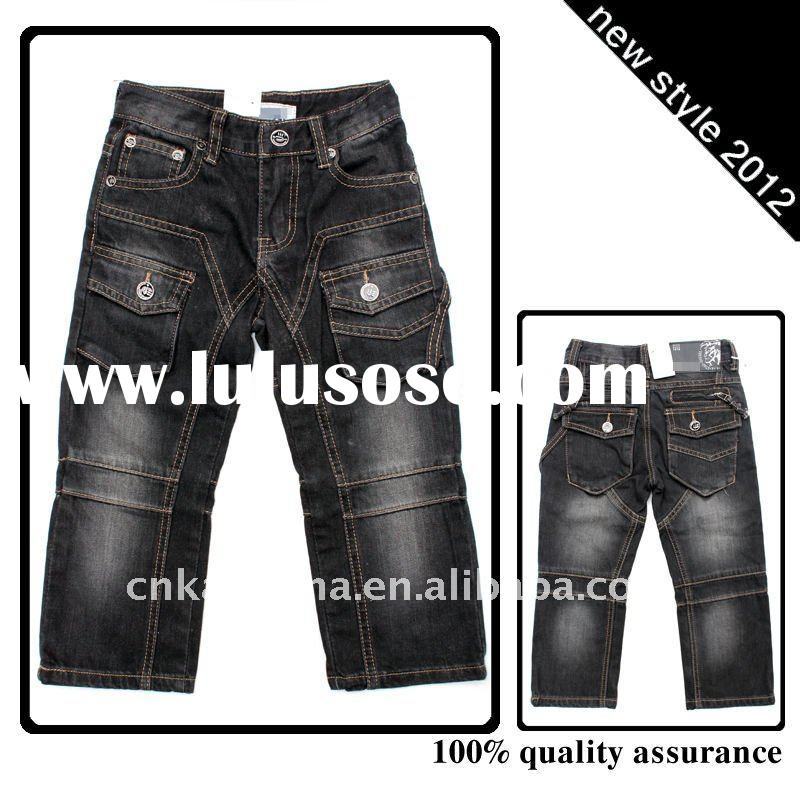 2012 Fashion Cool Children Wear Jeans DK-09-75#