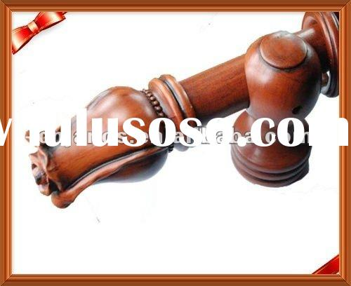 2012 Hot Sell Wooden Curtain Finial