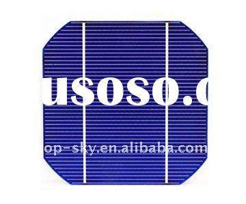 2012 Hottest TOP 5 grade A 5 inch mono-crystalline solar cells 125x125 high efficiency solar cell pr