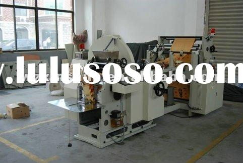 2012 NEW full automatic food paper bag making machine
