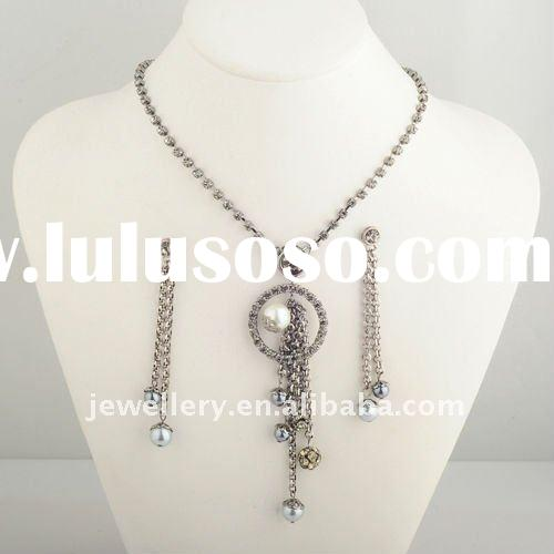 2012 custome african wholesale women rhinestone jewelry sets