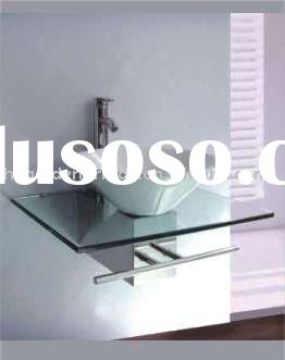 2012 furniture bathroom glass vessel sink GBG620