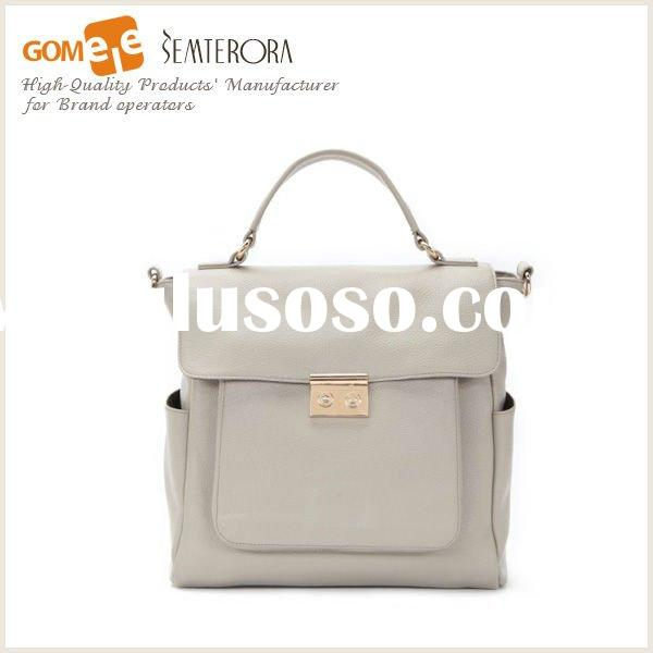 2012 genuine leather fashion bags ladies handbags