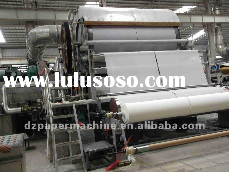 2012 hot type 1575-3800mm high speed toilet paper machine