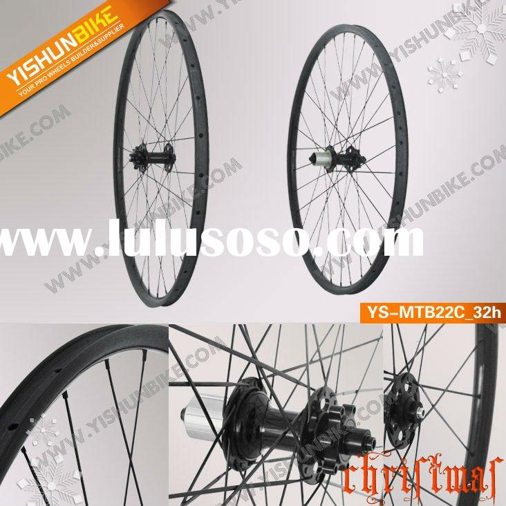 2012 mtb-20c 20mm clincher carbon mountain 29er wheelset