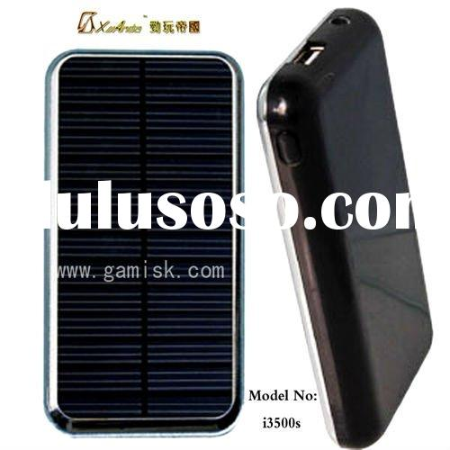 2012 new arrival high capacity solar mobile charger