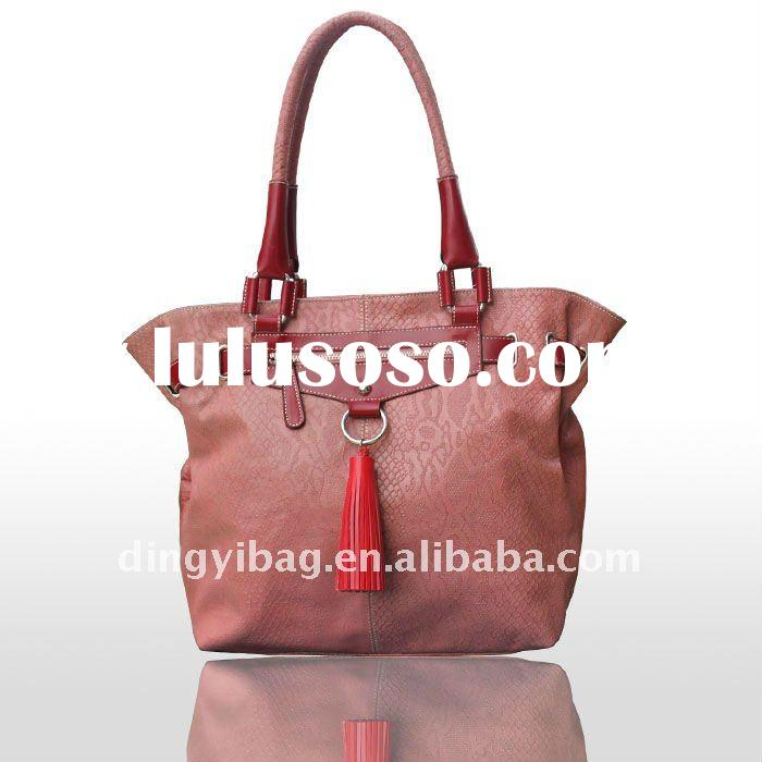 2012 new design Women genuine leather handbag