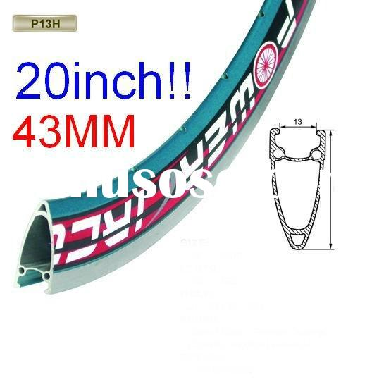 20 x1-3/8 45mm H bicycle rims triple wall