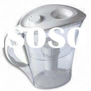 2.0L Water Filter Pitcher, Made of Active Carbon and Resin Inside, with PP Lid