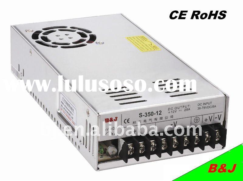 350W switching power supply 12V 30A CE RoHS