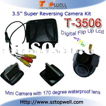 3.5 inch Digital TFT LCD Monitor with Rear View Camera System