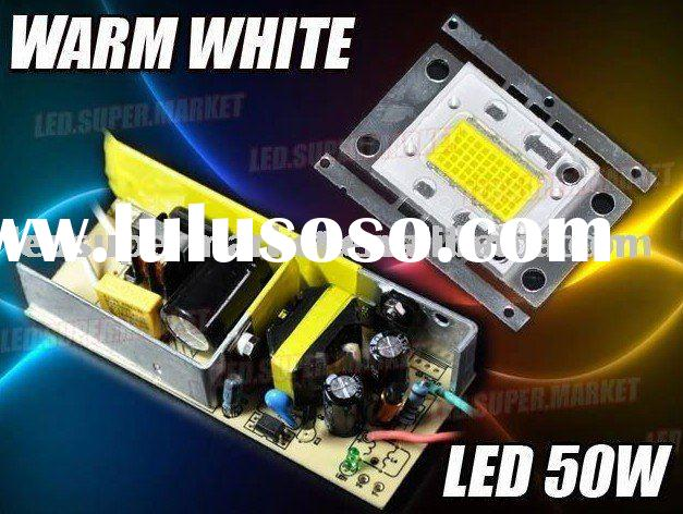 50W Warm White High Power 3600LM LED Light + AC Driver