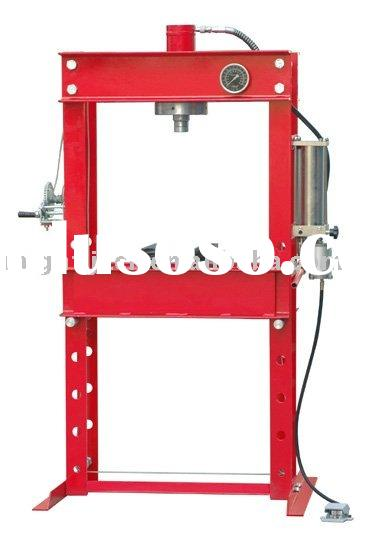 50 Ton Air/Manual Hydraulic Shop Press