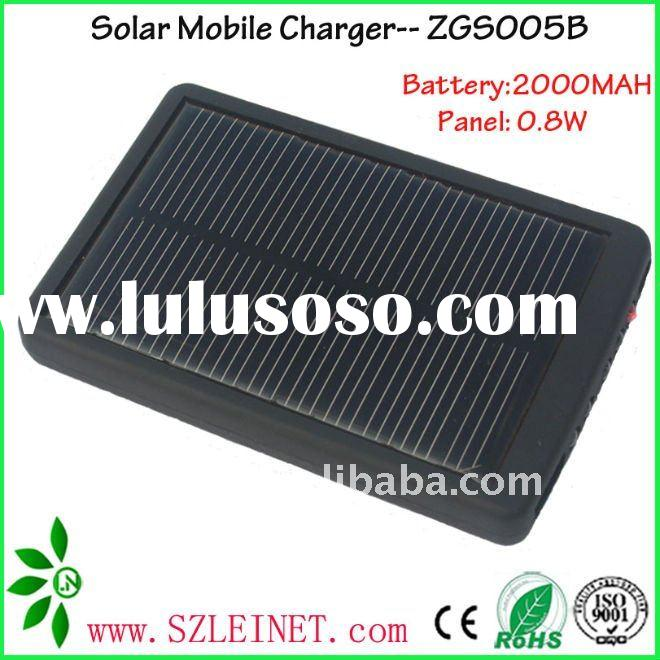 5.5V 2000MAH mini solar charger for iphone