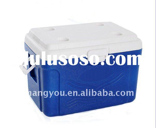 60L plastic portable ice Cooler box
