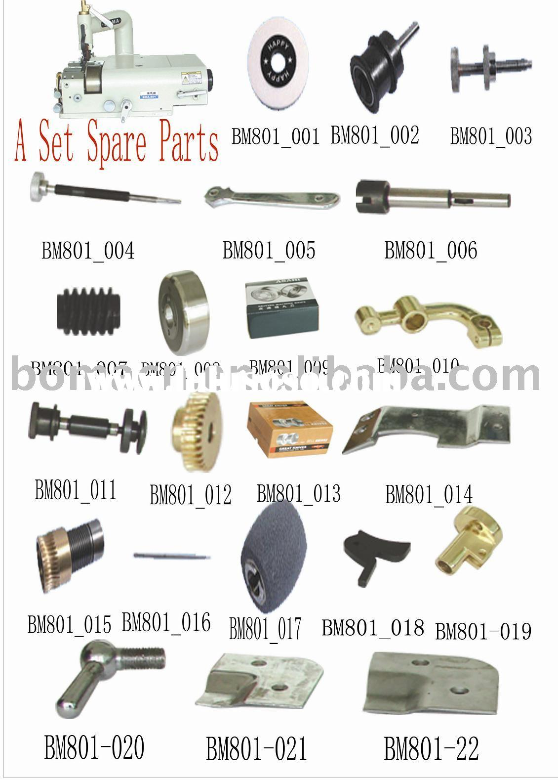 801 Leather Skiving Machine Spare Parts(Sewing Machine Spare Parts, sewing machine parts,industrial
