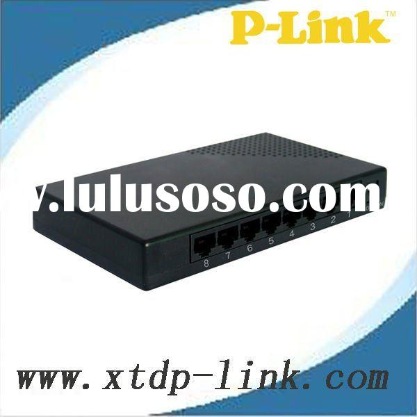 8-port N-way 10/100Mbps fast Ethernet switching hub