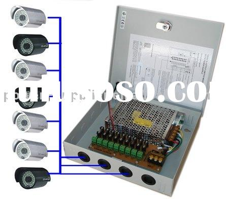 9 ports 10A cctv power supply, use for CCTV camera and access control system