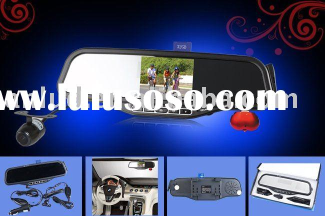 ALD100B Bluetooth rearview mirror with 3.5 inch wireless reverse parking camera
