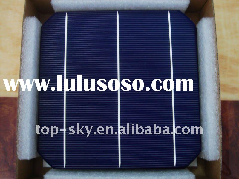 A grade high efficiency mono-crystalline solar cell 156x156 mm price 3 busbar