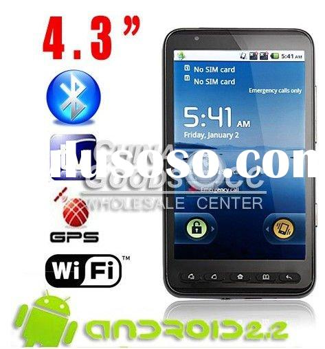 Accept paypal google amdroid 2.2 GPS WIFI dual sim cards Eyo A2000 smartphone cell phone