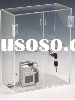 Acrylic Display Case with lock LY-3116