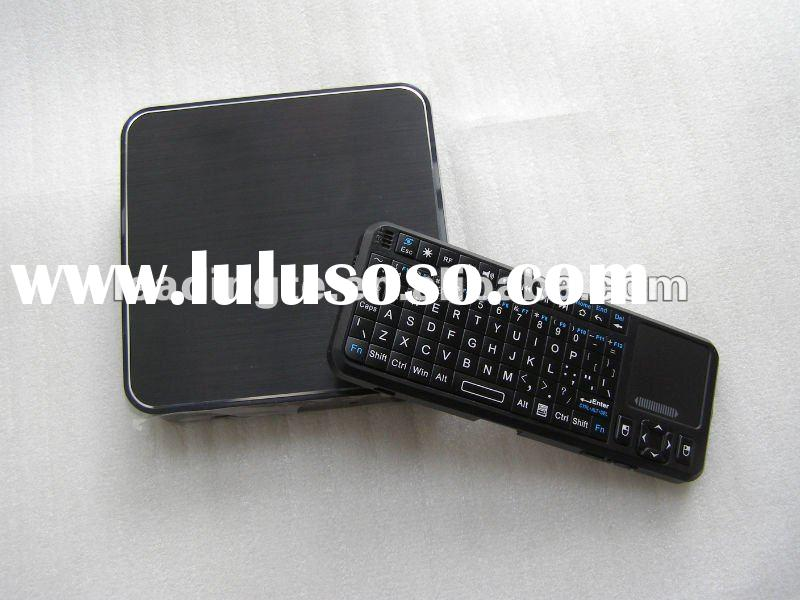 Android wireless tv box HD with wireless keyboard