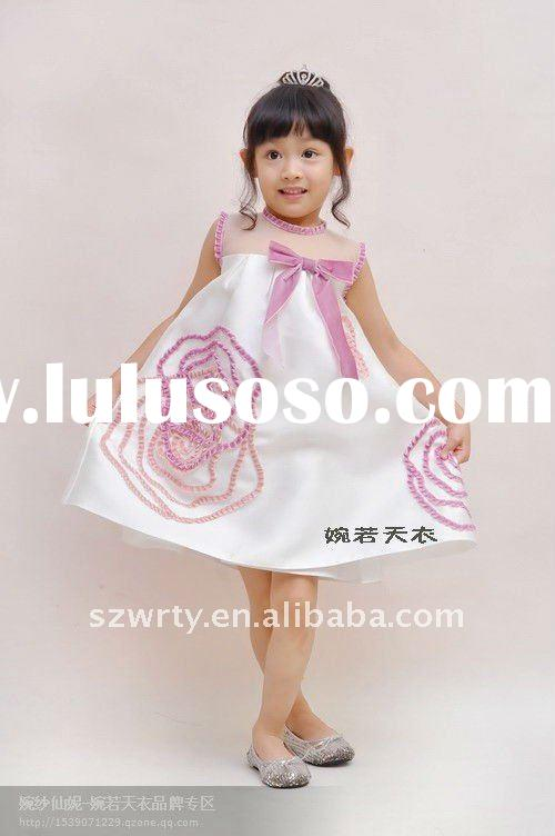 Angel dresses flower girls dress soft tulle