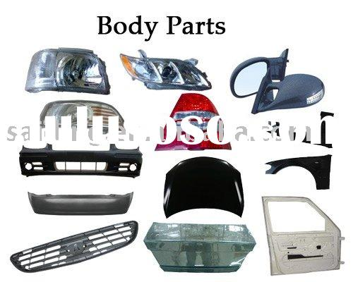 Auto body parts for Toyota, Honda, Nissan, BMW, Benz, etc