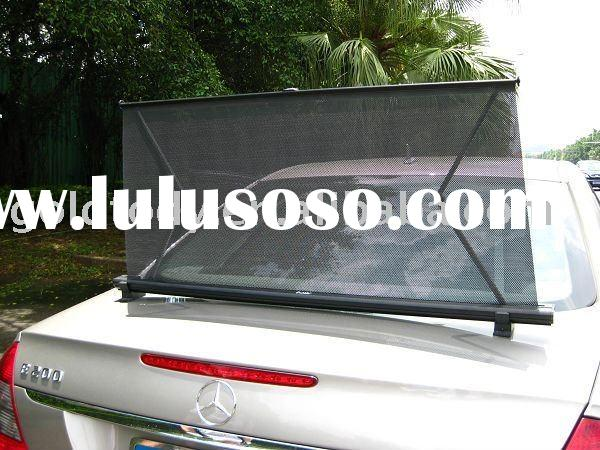 Auto remote control sunshade,Retractable ,Electrics car sunshade