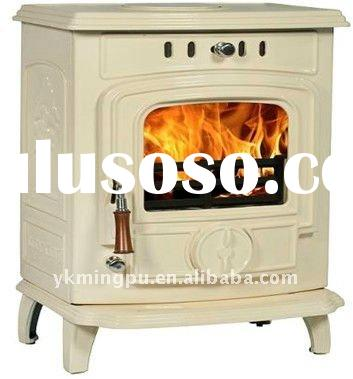 BOILER CAST IRON WOOD BURNING STOVE WITH CE&GS
