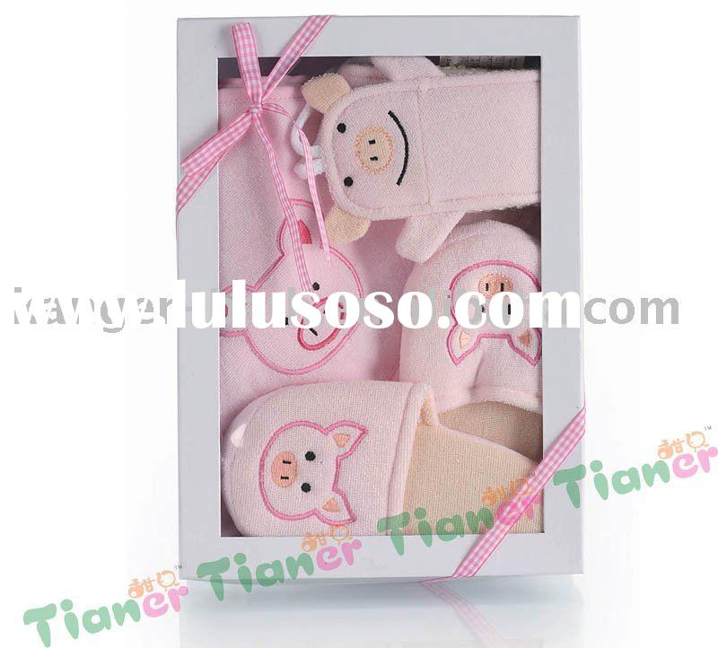 Baby bath set gift product