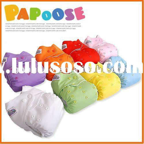 Baby washable eco-friend cloth nappy with pocket style