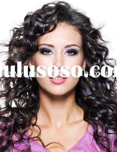 Beauty Spanish wave long hair wigs