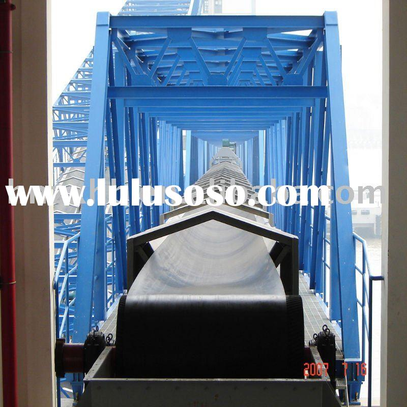 Belt conveyor system used in mine