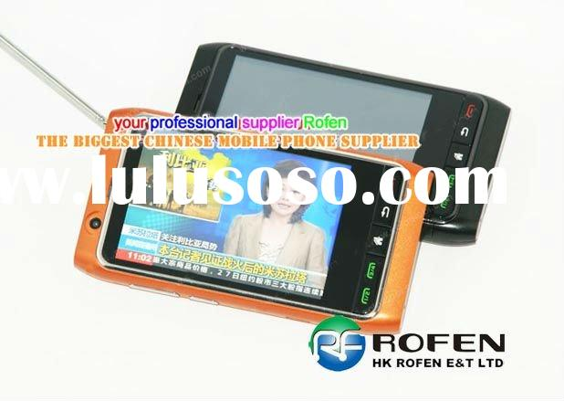 """Best Flying FN8 3.4"""" four sim card four standby, dual TV cell phone"""