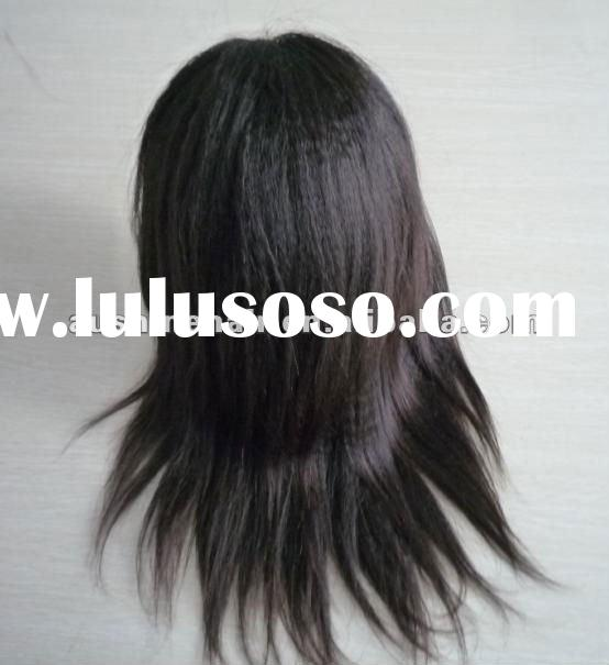 Brazilian Hair Kinky Straight Silk Top Glueless Full Lace Wig--Stocks on Selling !!