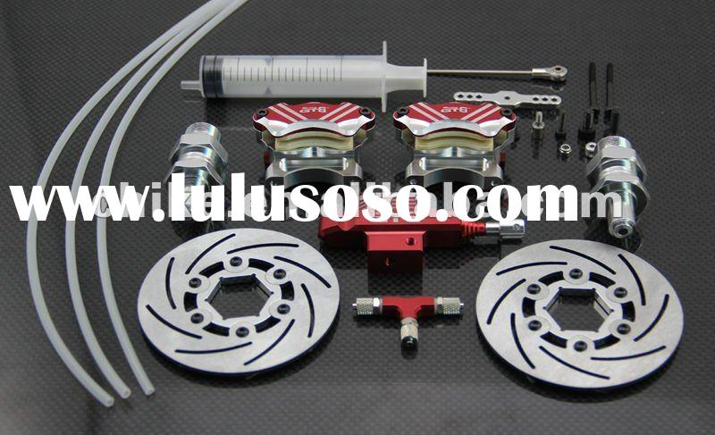 CNC - Front Hydraulic Disc brake with extended axle for Baja use
