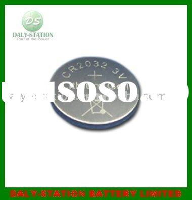 CR2032 lithium battery with long life span