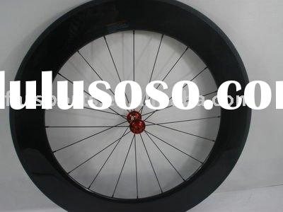 Carbon wheelset clincher 88mm for road bike