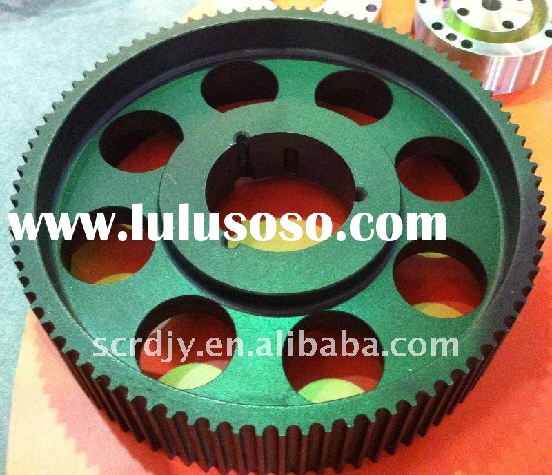 Cast iron GG25 HTD 14M Timing Belt Pulleys