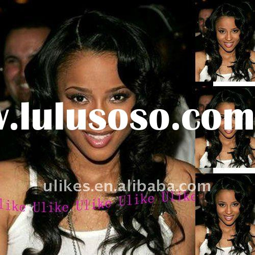 Celebrity Human Hair Cheap Indian Remy Lace Front Wig