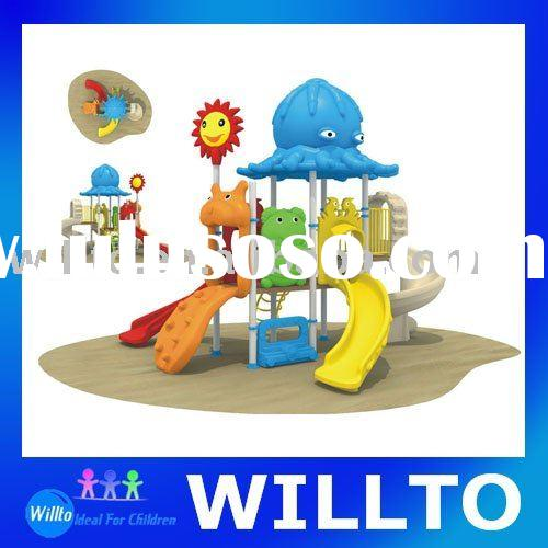 Children Playground With Lovely Cartoon Feature WT-062A